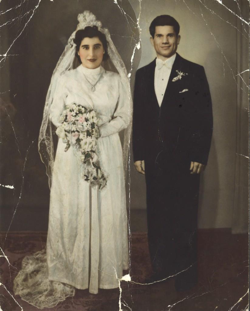 Teresina and Giovanni's wedding photograph