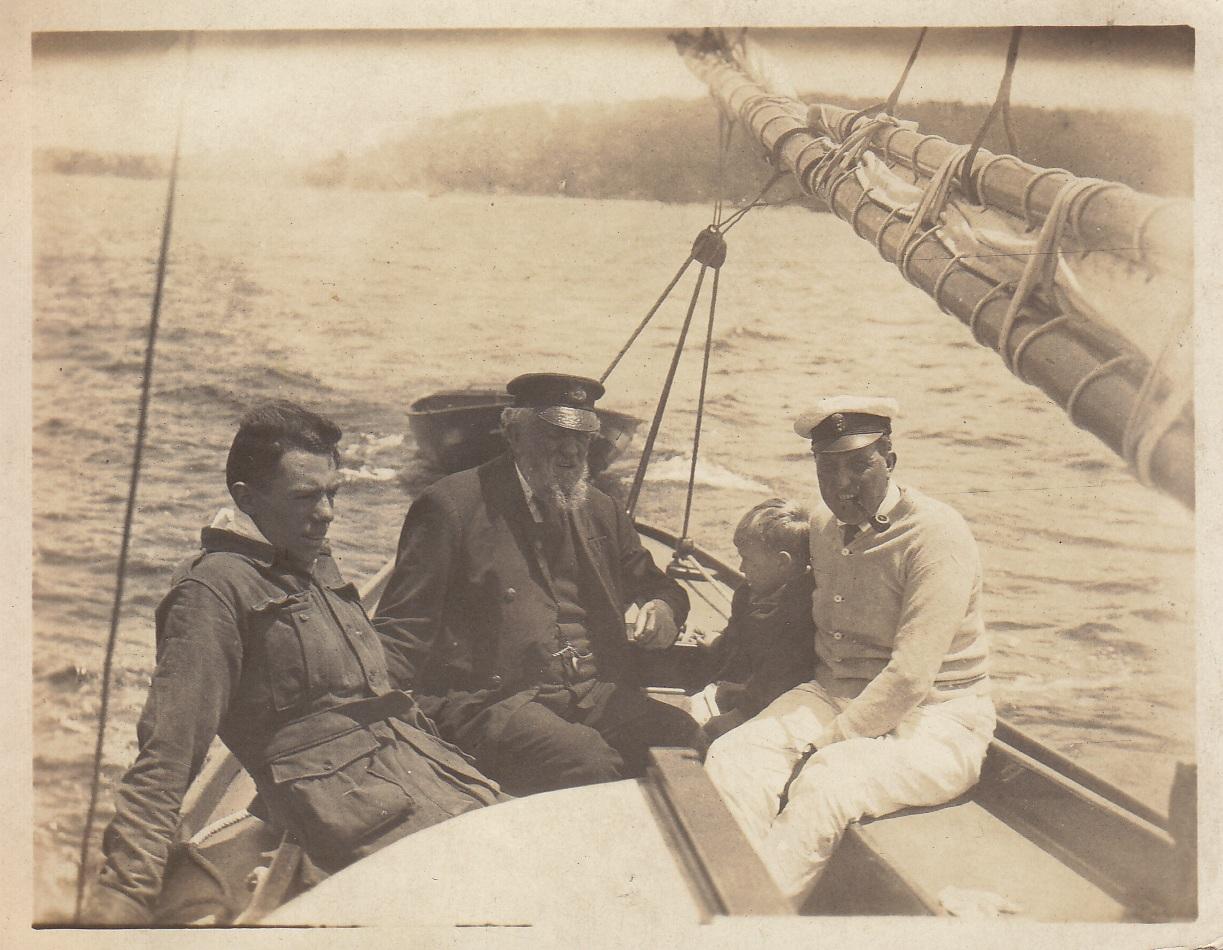 David, Max Carment and David Shallard Carment