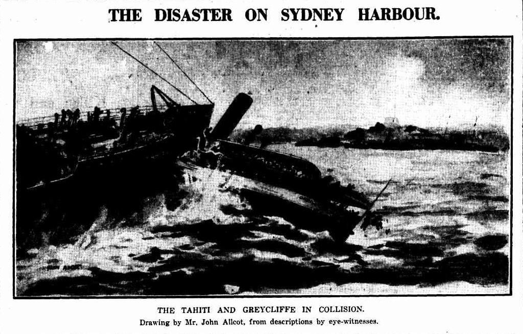 Illustration of Greycliffe disaster