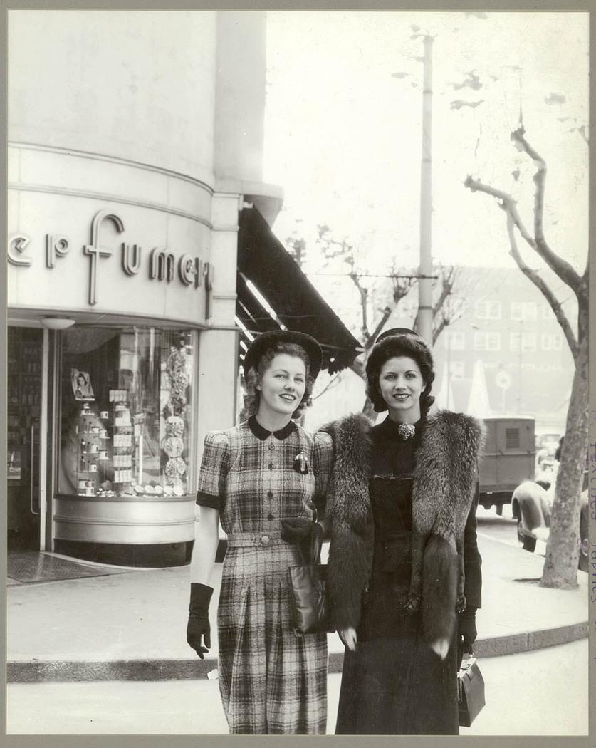 Two women in Kings Cross