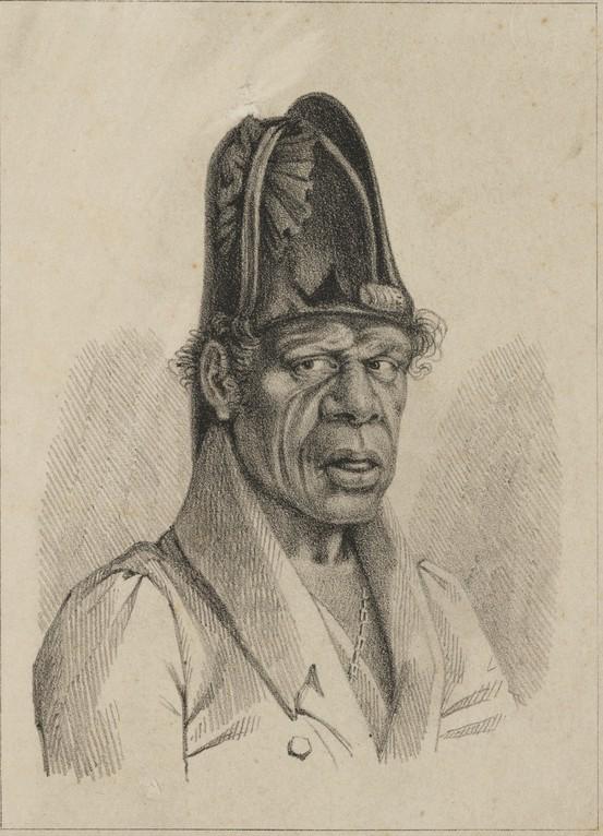 Portrait of Bungaree
