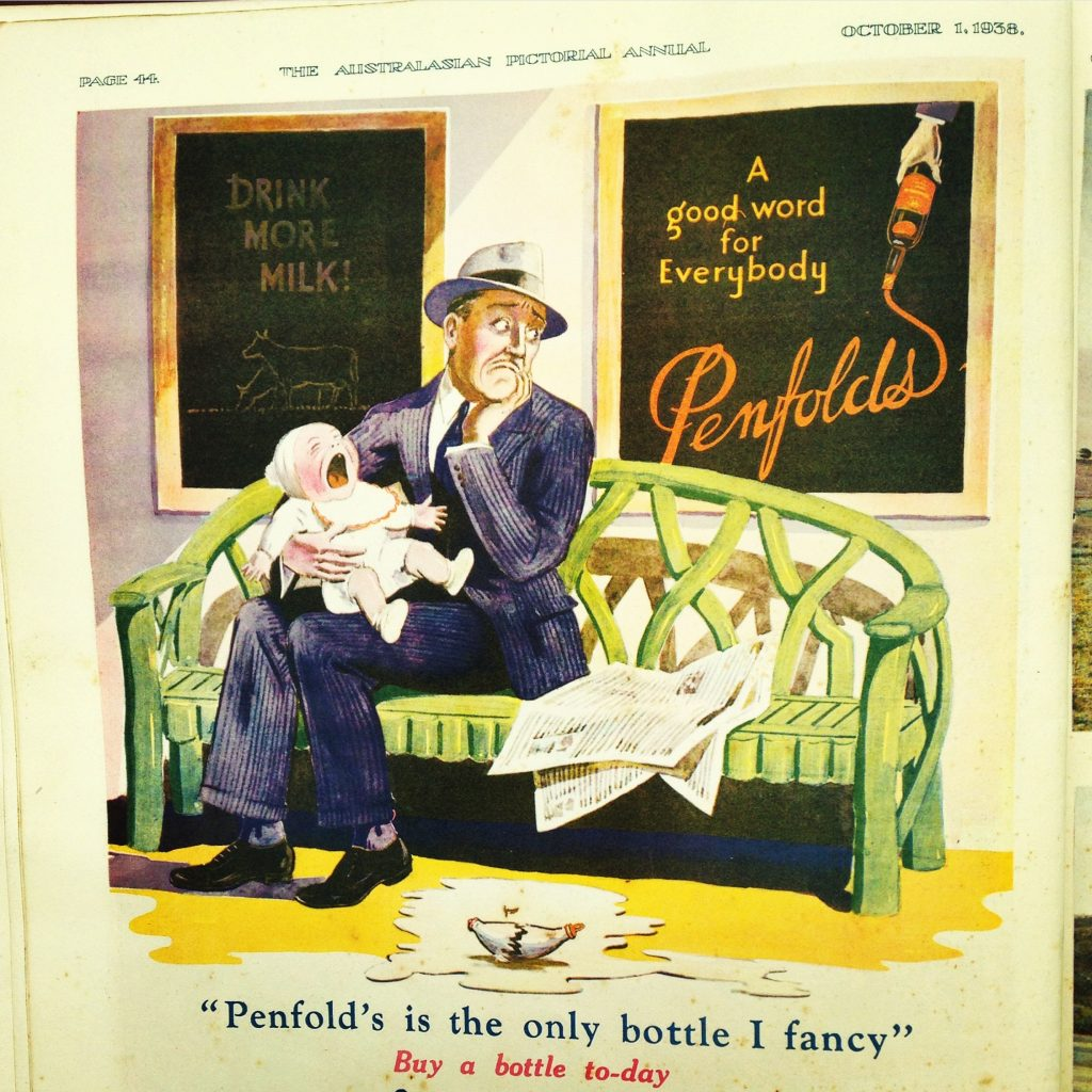 Penfold's advertisement