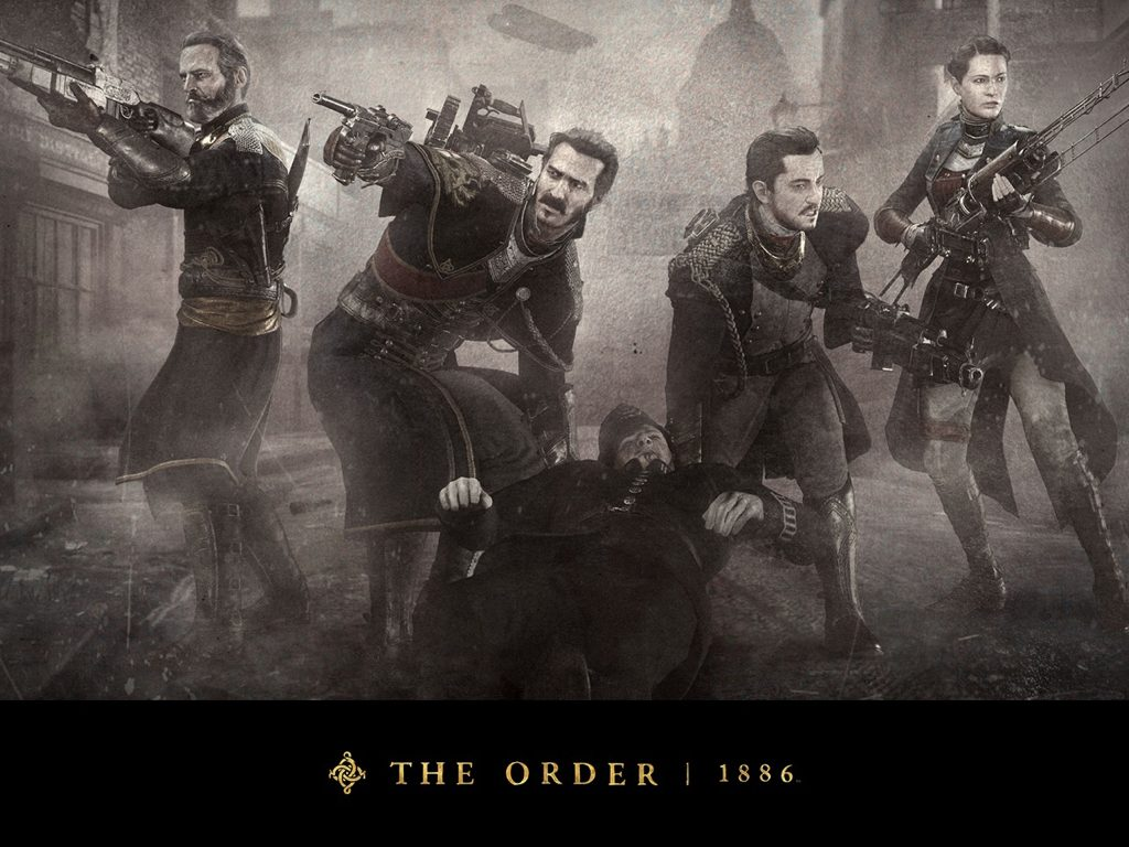 The Order: 1886. Image courtesy of PlayStation and Sony Computer Entertainment.