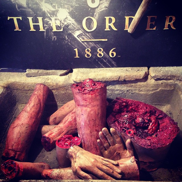 Macabre props, The Order: 1886 launch