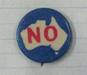 Anti conscription button