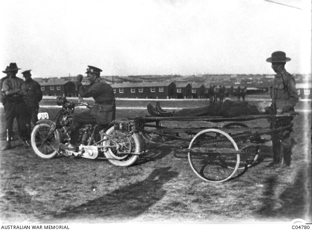 Alexander Worsfold's stretcher