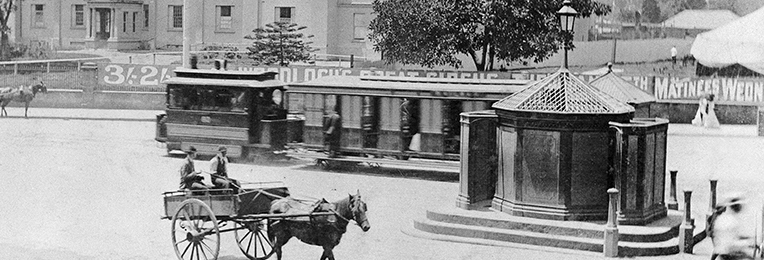 Sydney's 'pissoirs' and public lavatories