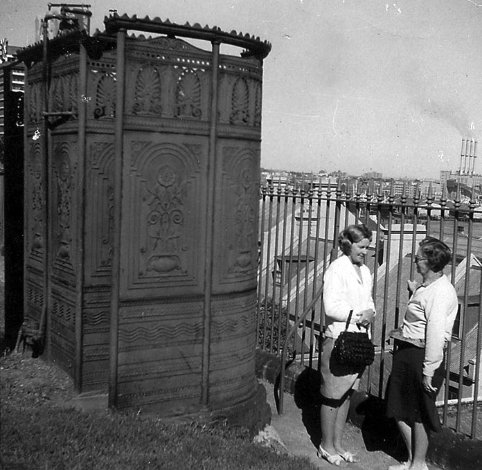 The 1880s 'pissoir' on Observatory Hill