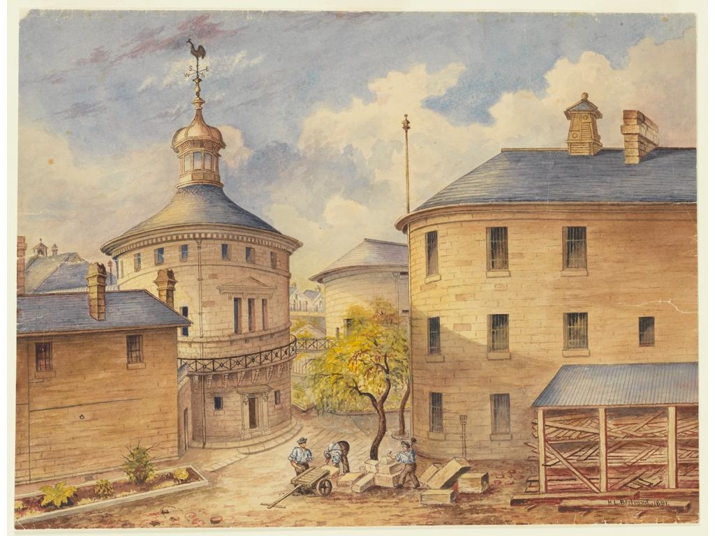 Darlinghurst Gaol 1891