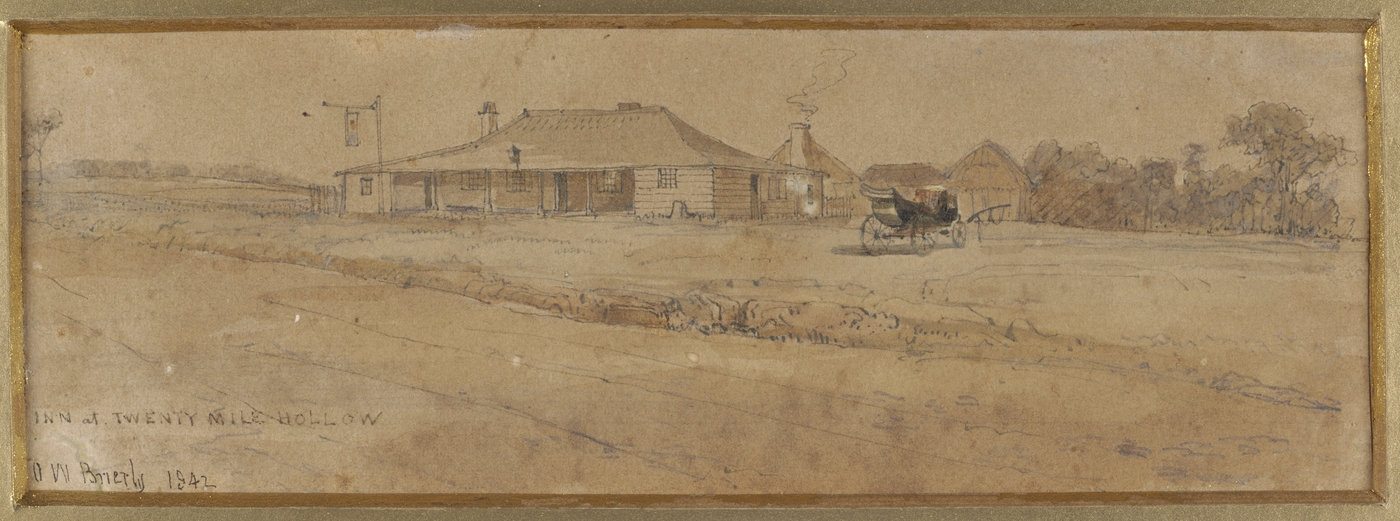 Inn at Twenty Mile Hollow 1842