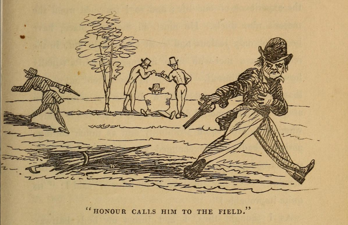 'Honour Calls Him to the Field